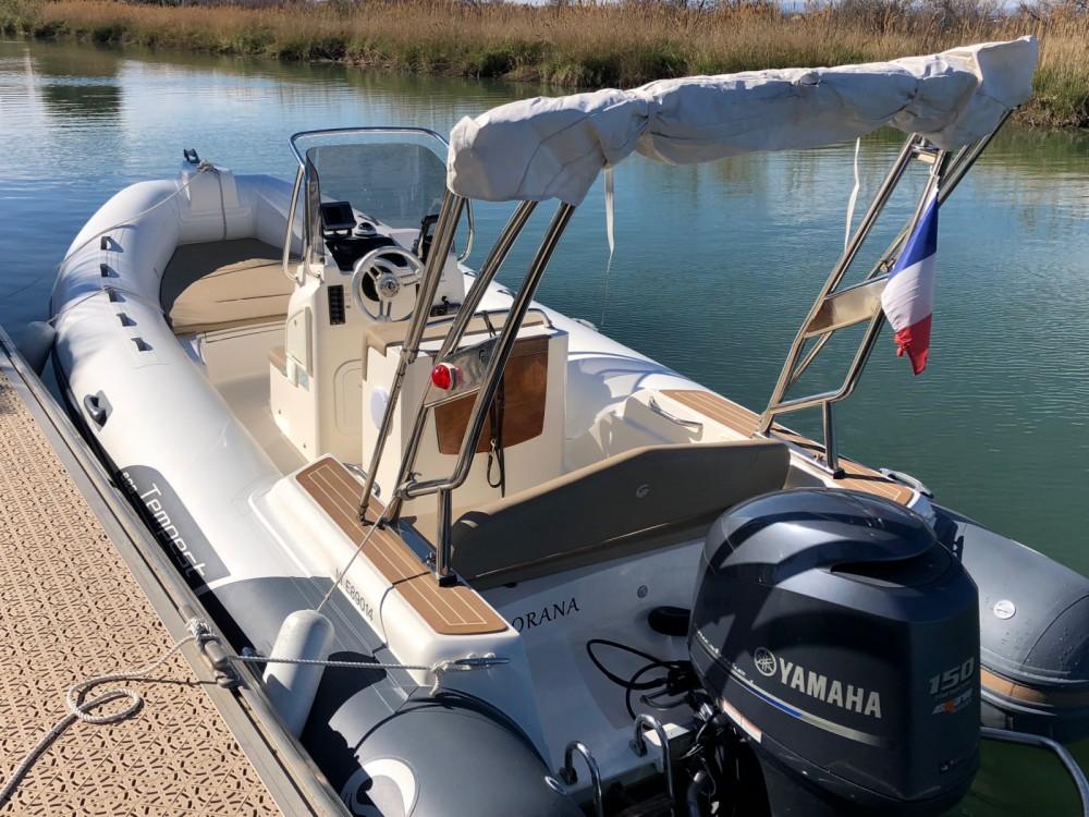 Boat rental Capelli Tempest 626 in Palavas-les-Flots on Samboat