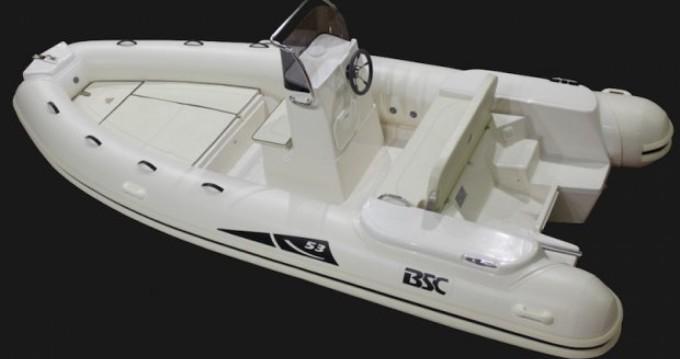 Boat rental Porticcio cheap BSC 53