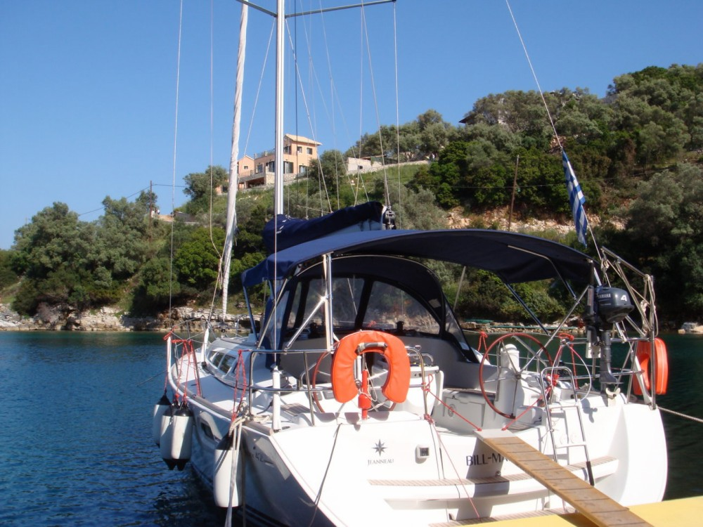 Boat rental Lefkada cheap Sun Odyssey 42i