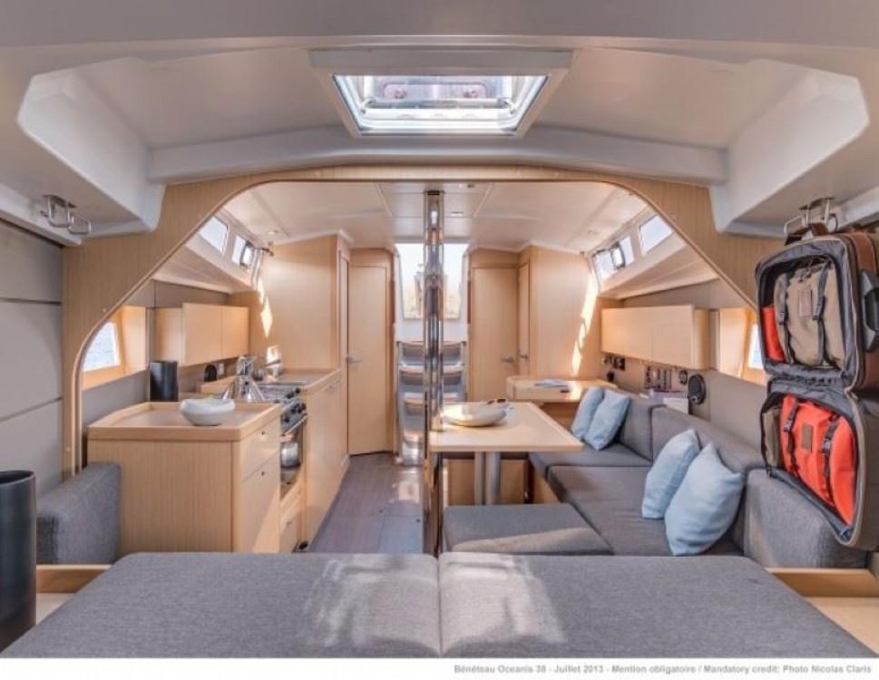 Boat rental Campania cheap Oceanis 38.1
