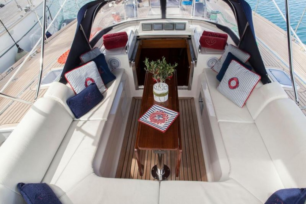 Hire Sailboat with or without skipper Dixon Yacht Design Lefkada