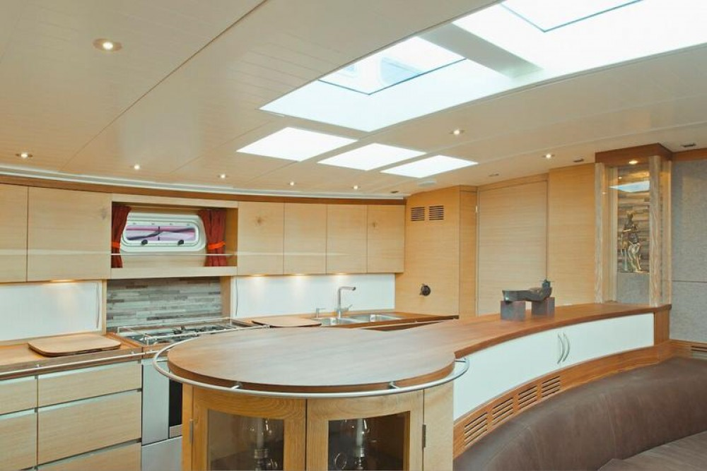 Dixon Yacht Design Opus 68 between personal and professional Lefkada