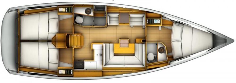 Boat rental Corfu cheap Sun Odyssey 419
