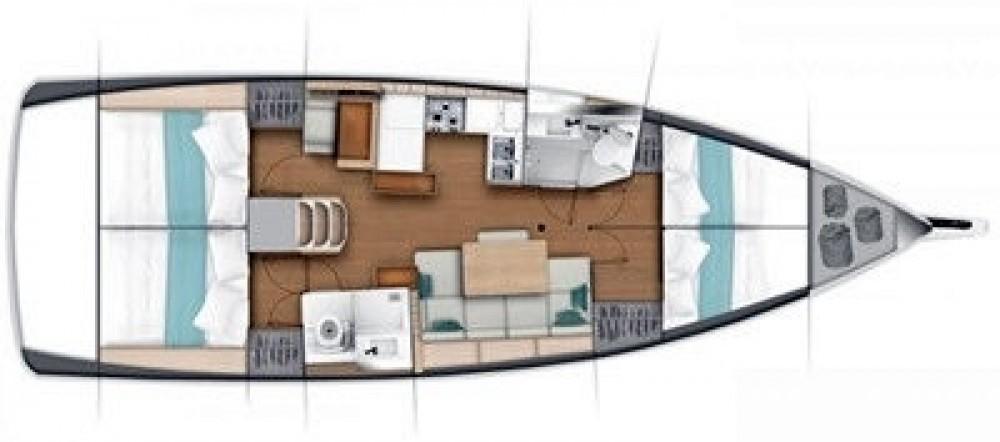 Rental yacht Corfu - Jeanneau Sun Odyssey 419 on SamBoat