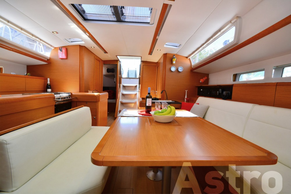 Jeanneau Sun Odyssey 509 between personal and professional Lefkada