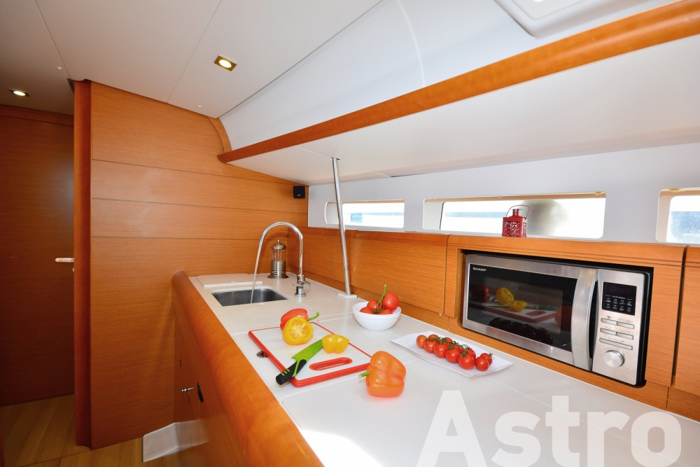 Rental yacht Lefkada - Jeanneau Sun Odyssey 509 on SamBoat