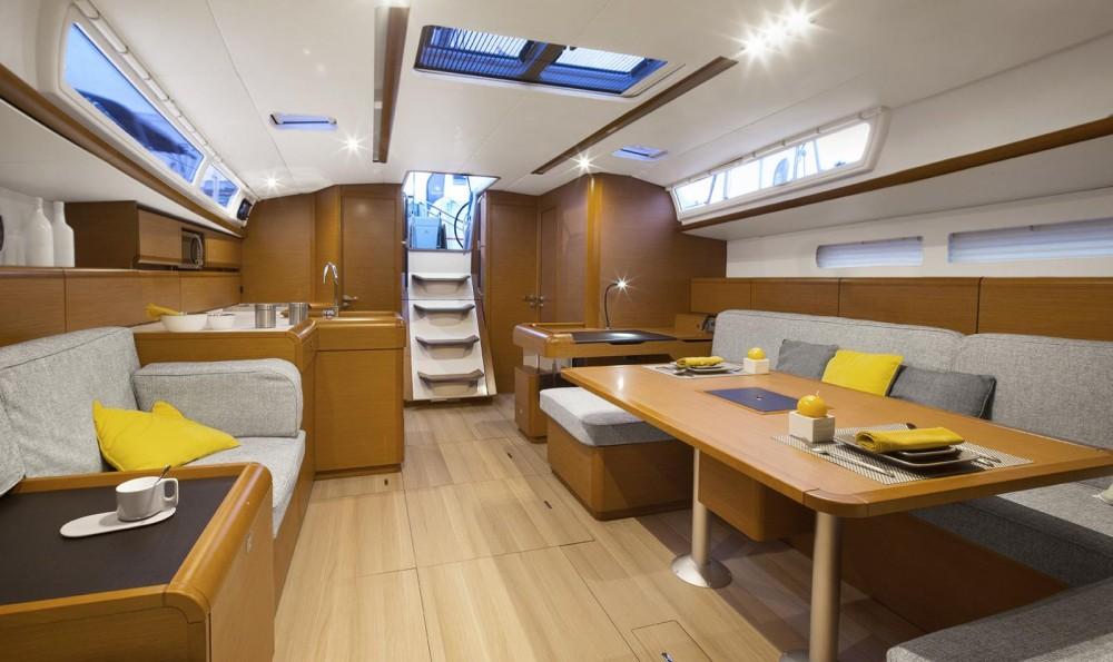 Rental Sailboat in Attica - Jeanneau Sun Odyssey 519