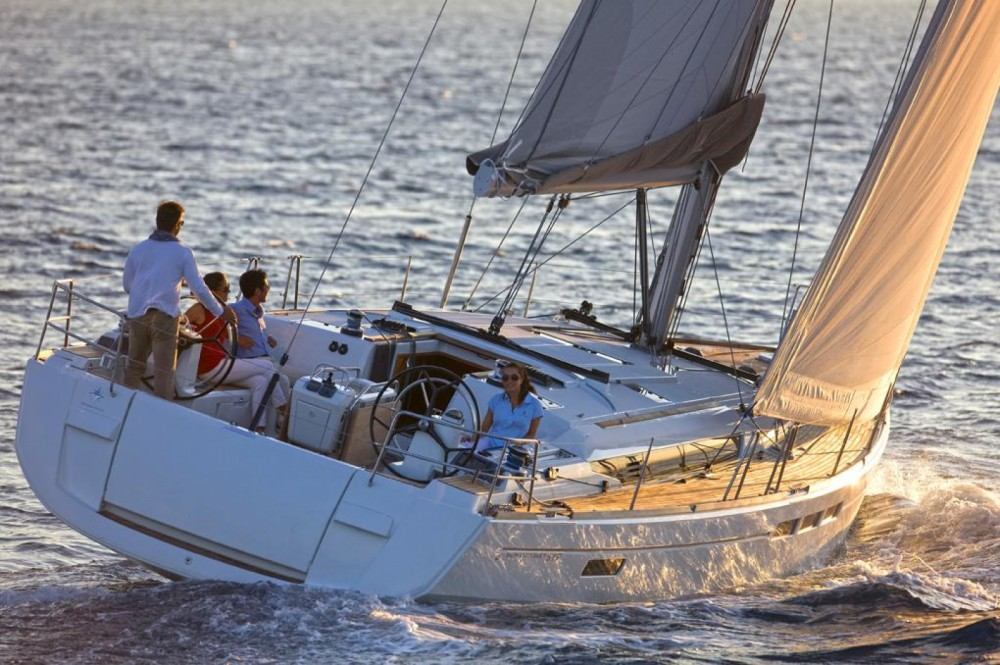 Jeanneau Sun Odyssey 519 between personal and professional Attica