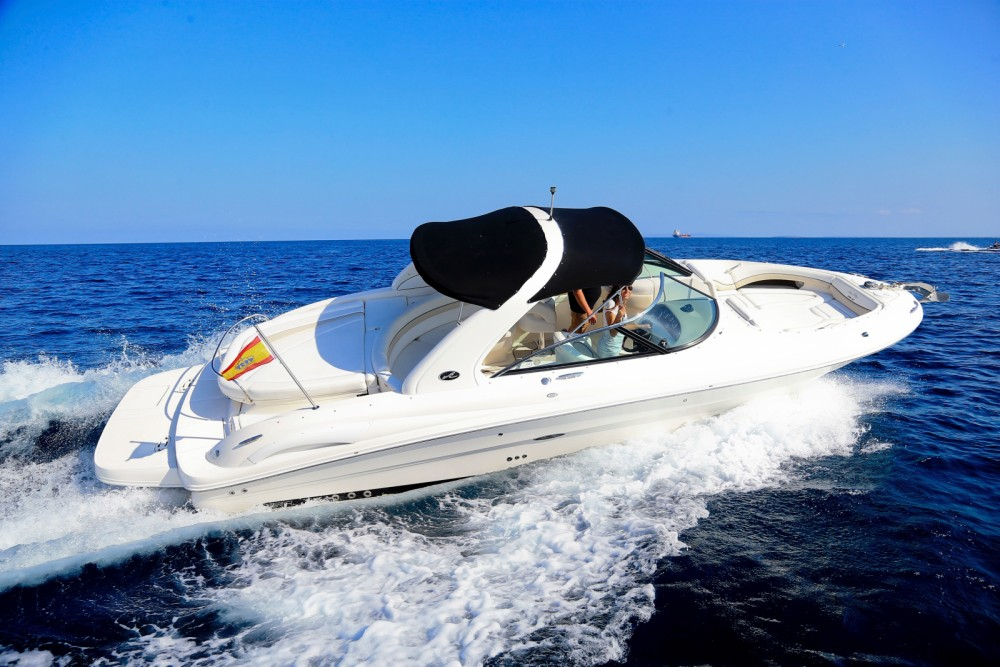 Hire Motor boat with or without skipper Sea Ray Ibiza