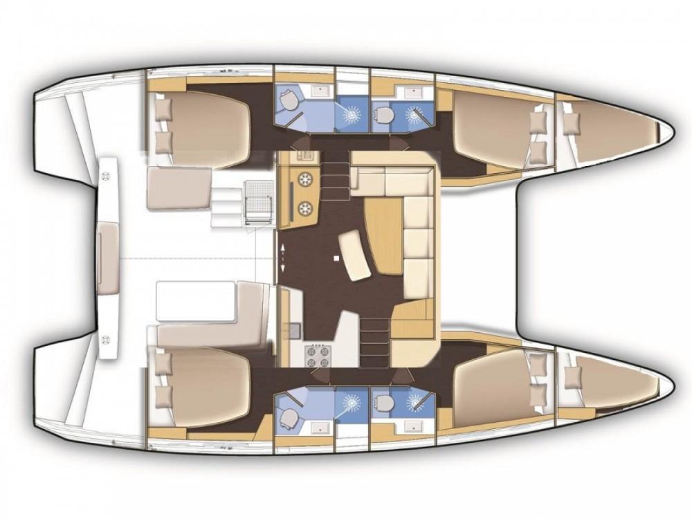 Rental Catamaran in ACI Marina Split - Lagoon Lagoon 42