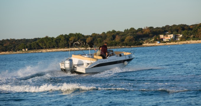 Boat rental Vrsar-Orsera cheap MARINELLO 22 EDEN OPEN