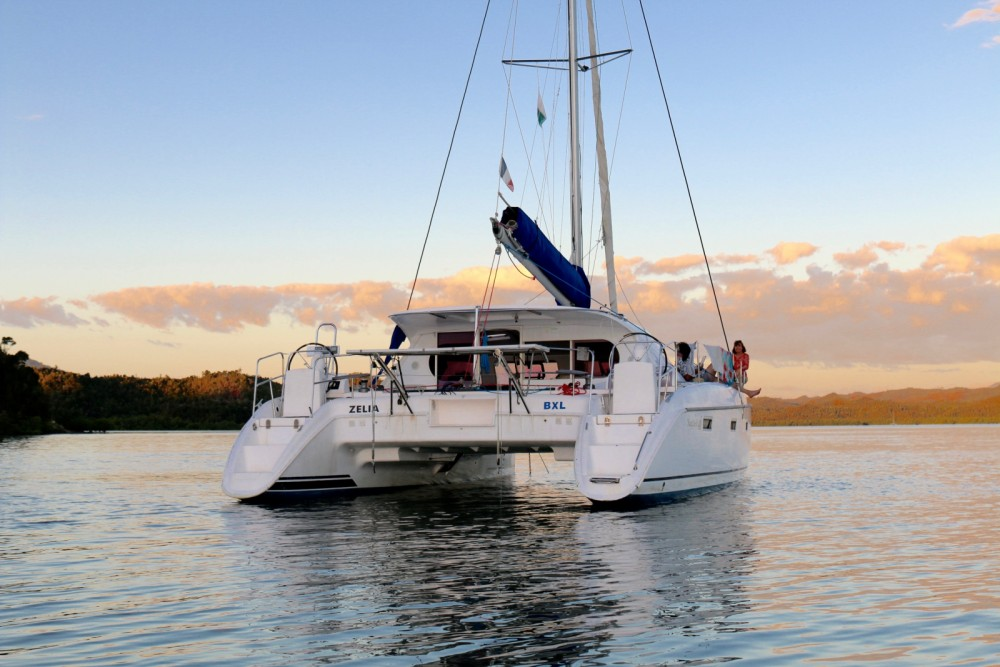 Catamaran for rent Andoany at the best price