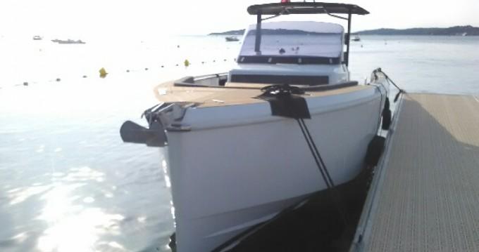Rental Motorboat in Antibes - Fjord Fjord 36