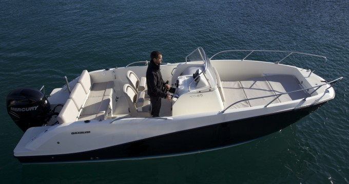 Hire Motorboat with or without skipper Quicksilver Agay