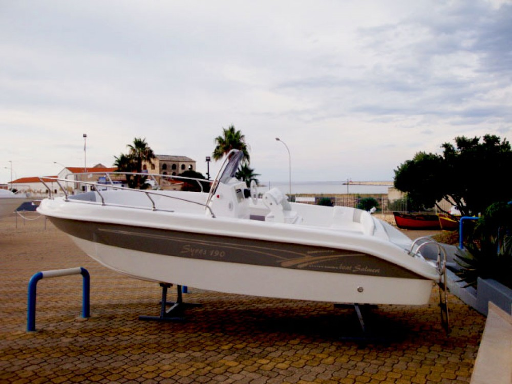 Hire Motor boat with or without skipper Salmeri Milazzo