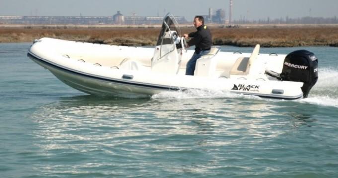 Boat rental Milazzo cheap Gommone Black Fin -115hp