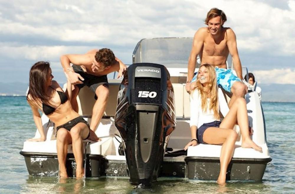 Boat rental Fréjus cheap Quicksilver 675 Open Activ