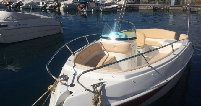Boat rental Sant Amanç cheap Eden 20