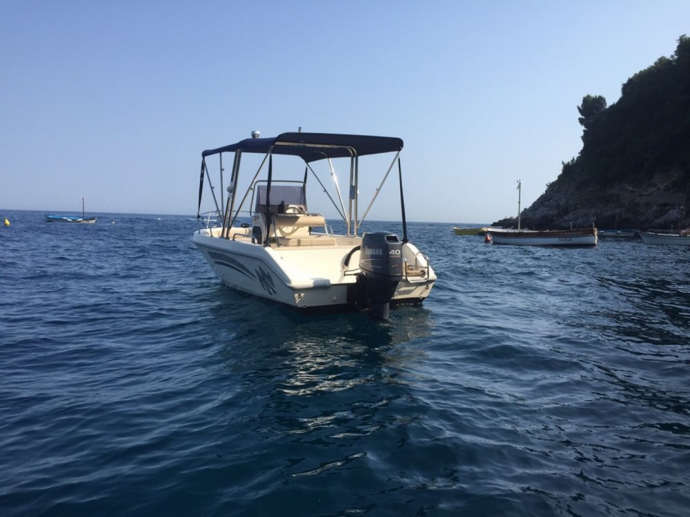 Rental Motor boat in Salerno - Open open 18
