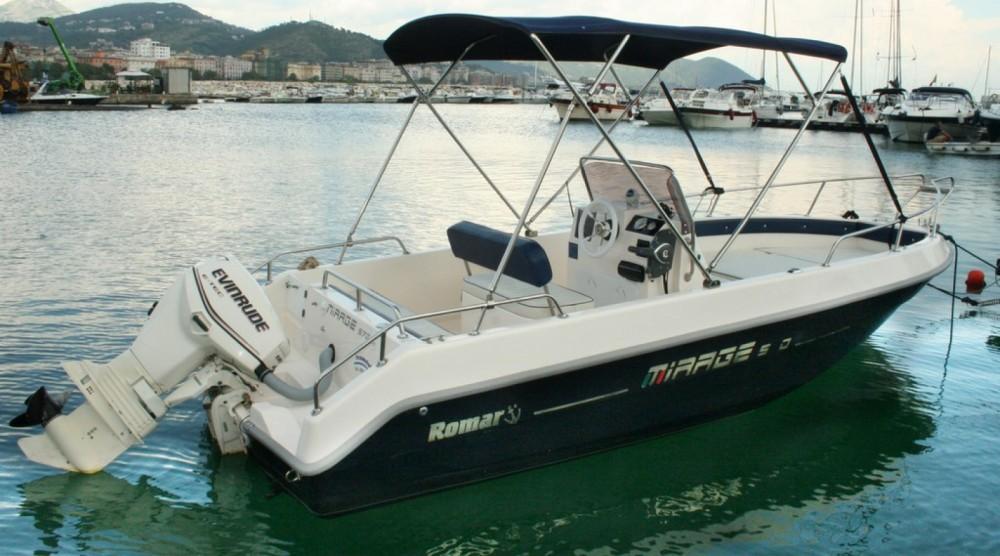 Boat rental Salerno cheap romar tirage 5.7 40hp