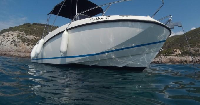 Rent a Quicksilver Activ 555 Open Port Ginesta
