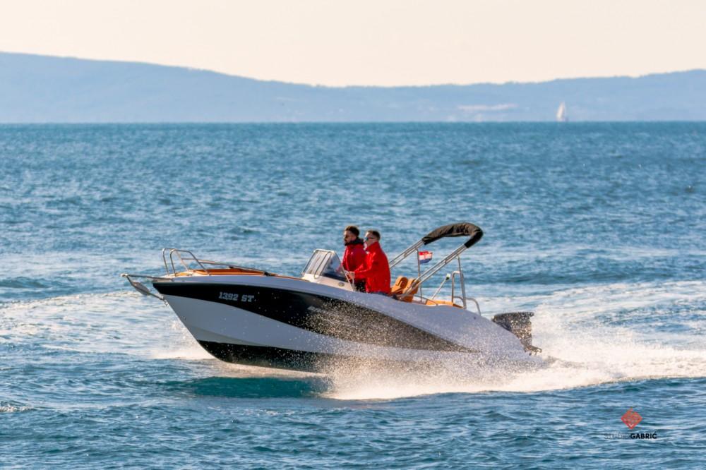 Boat rental Okiboats Barracuda 545 Open in Split on Samboat
