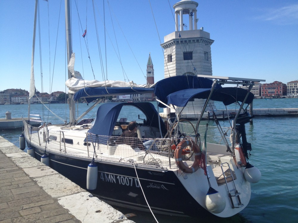 Hire Sailboat with or without skipper Hanse Punta Sabbioni