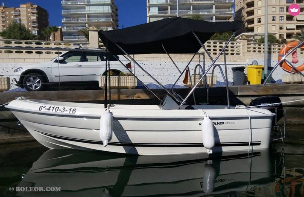 Rental Motor boat Boleor with a permit