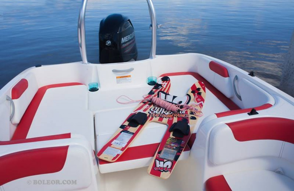 Rental yacht  - Boleor Q600 'Atlas' (8p/115hp) on SamBoat