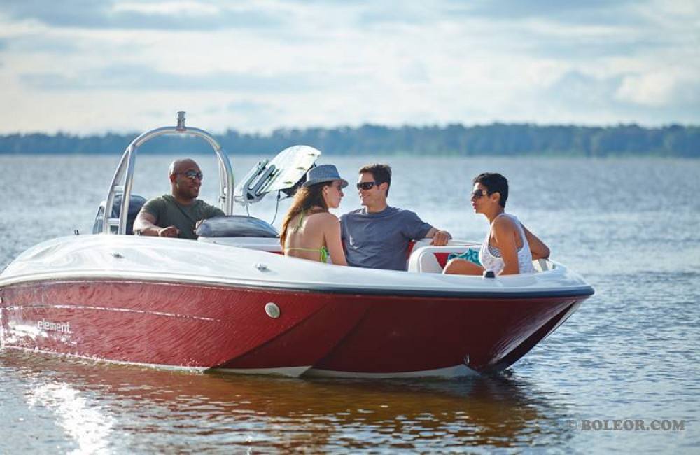 Rental Motor boat in  - Boleor Q600 'Atlas' (8p/115hp)