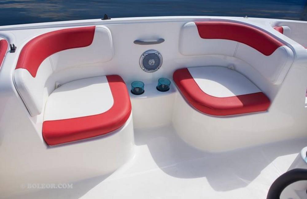 Rental Motor boat Boleor with a permit
