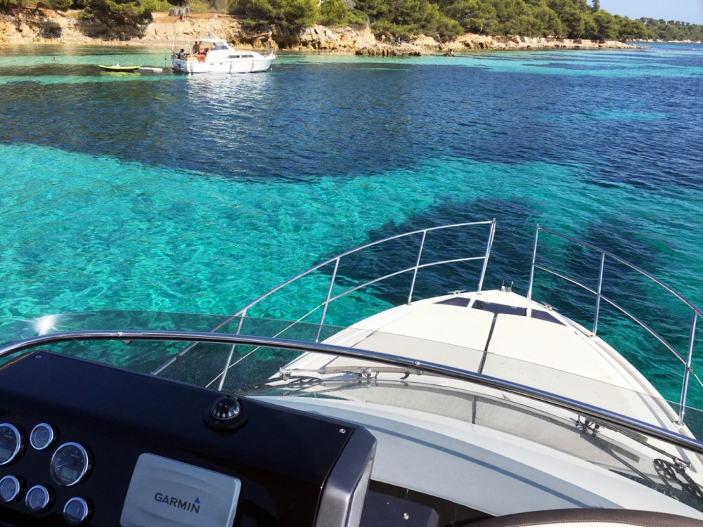 Rental Motor boat in Cannes - Galeon Galeon 380 Fly