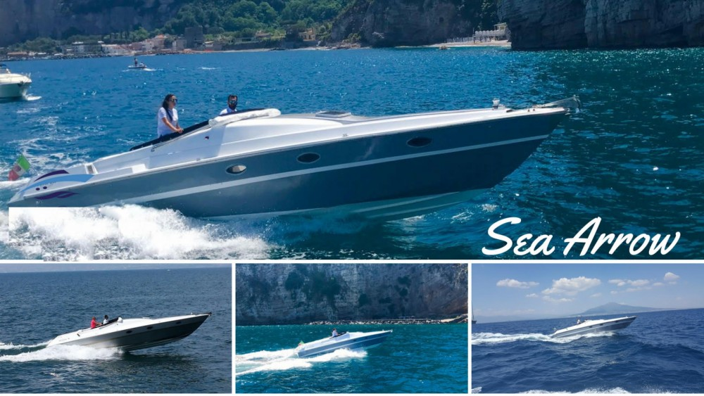 Hire Motor boat with or without skipper Sea Arrow Vico Equense