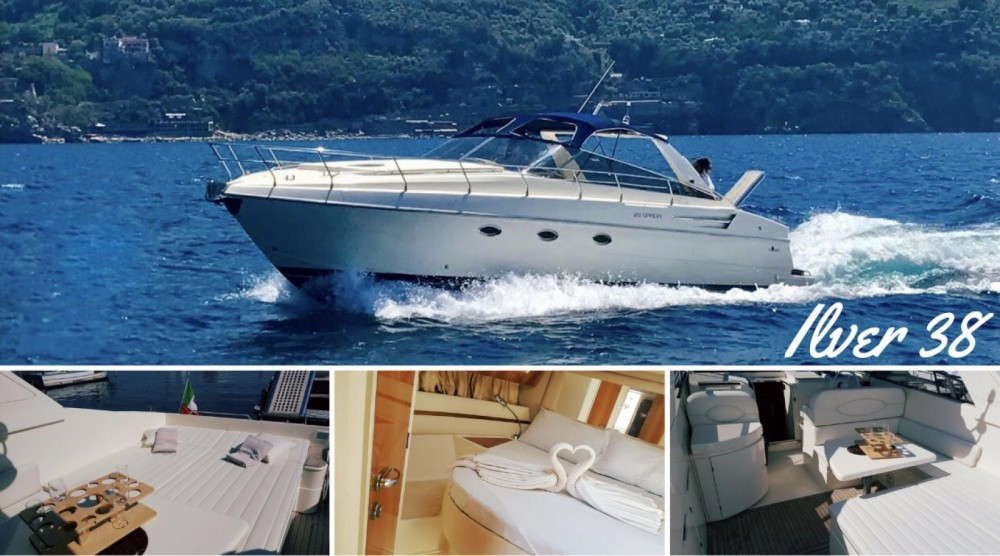 Hire Motor boat with or without skipper Ilver Vico Equense