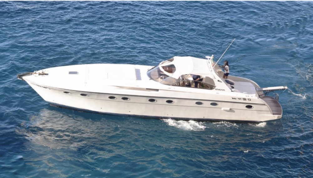 Hire Motor boat with or without skipper Rizzardi Vico Equense