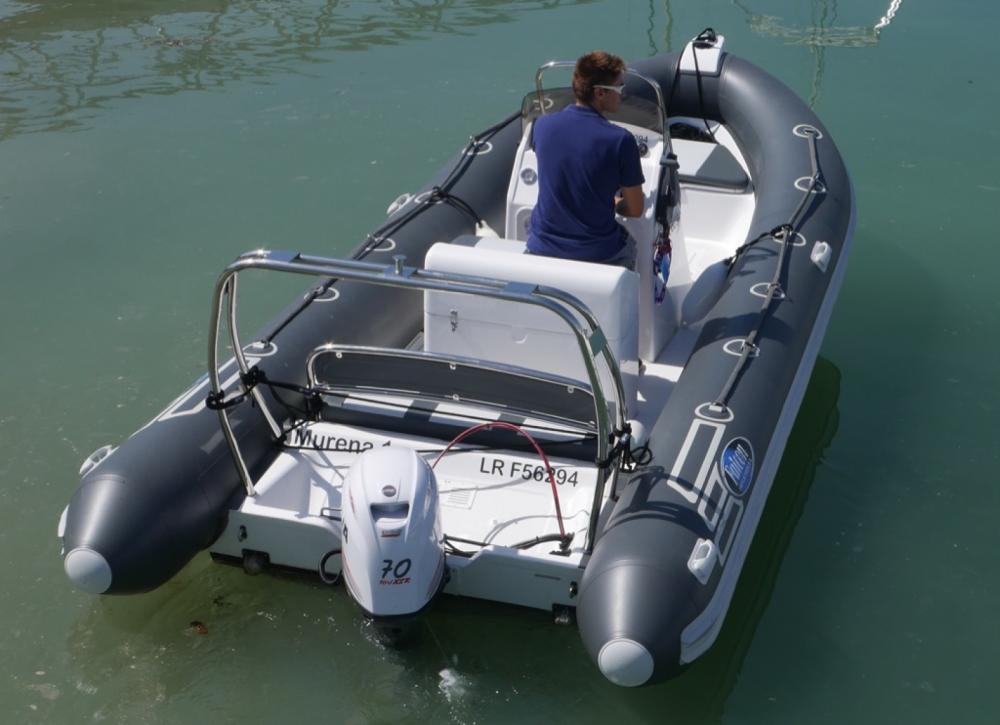 Boat rental Falcon FALCON 575 RS in La Rochelle on Samboat