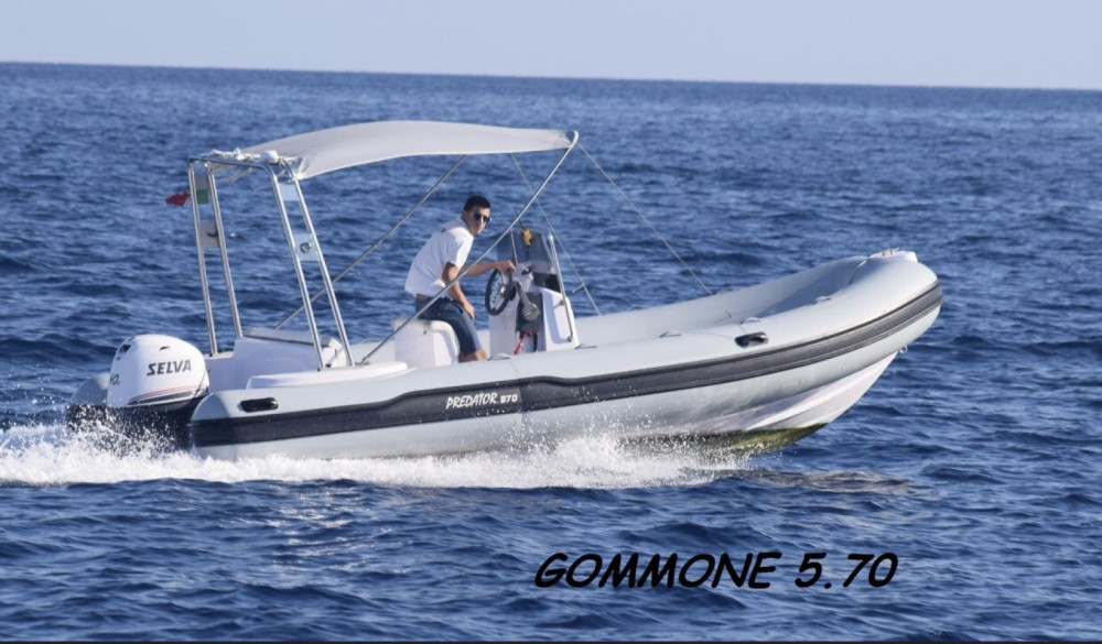 Boat rental Vico Equense cheap Selva D570