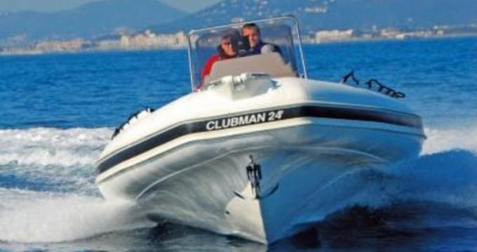 Boat rental Pianottoli-Caldarello cheap Clubman 24