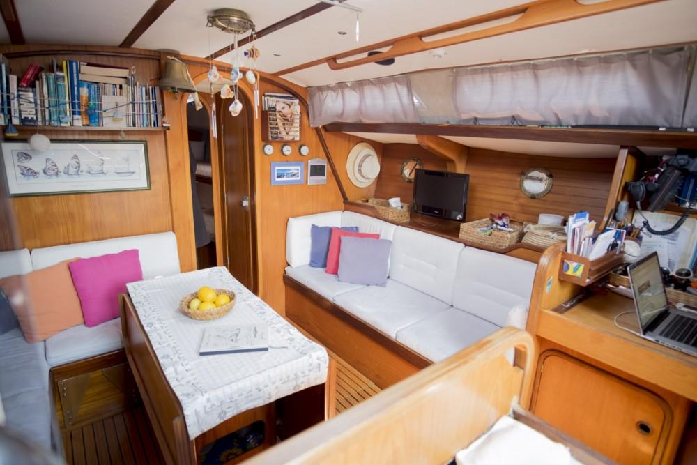 Boat rental Lipari cheap Gib Sea 442