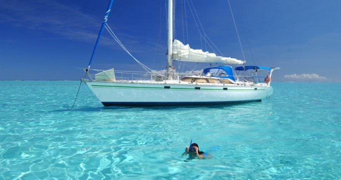 Hire Sailboat with or without skipper Jeanneau Huahine