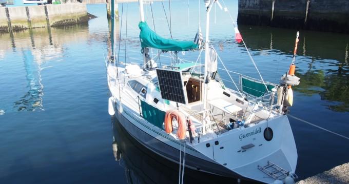 Boat rental Loctudy cheap Ovni 32