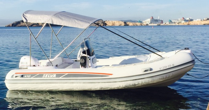 Selva Selva D470 AUXILIAR O TENDER between personal and professional Ibiza Town
