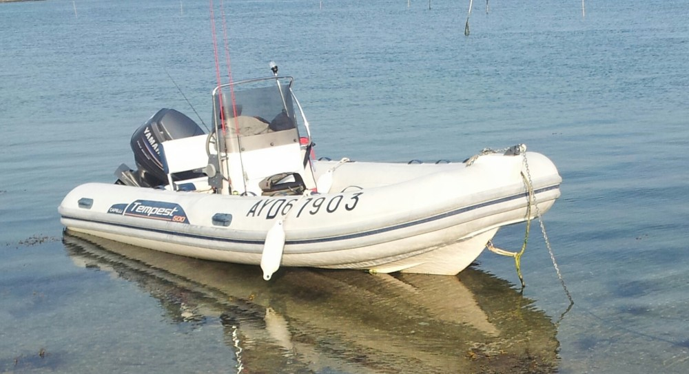 Hire RIB with or without skipper Capelli Arradon