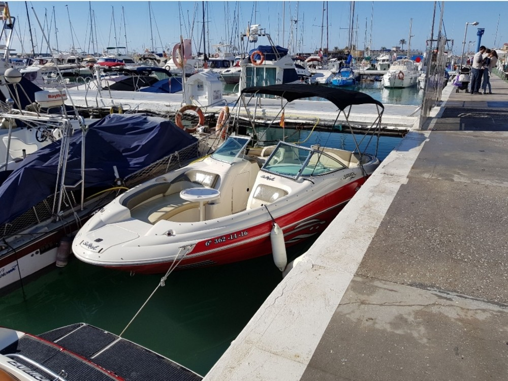 Motor boat for rent Fuengirola at the best price