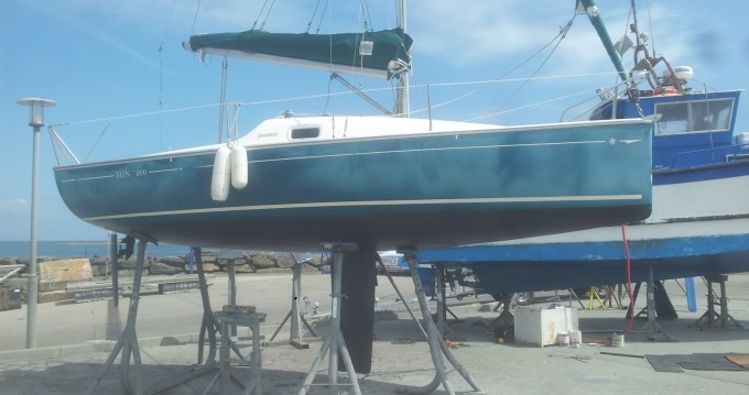 Jeanneau Sun 2000 between personal and professional Port-Joinville
