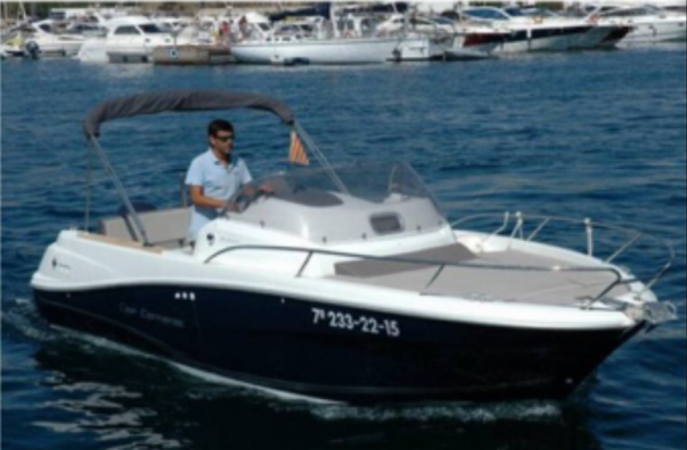 Boat rental Jeanneau Cap Camarat 6.5 WA in Novi Vinodolski on Samboat