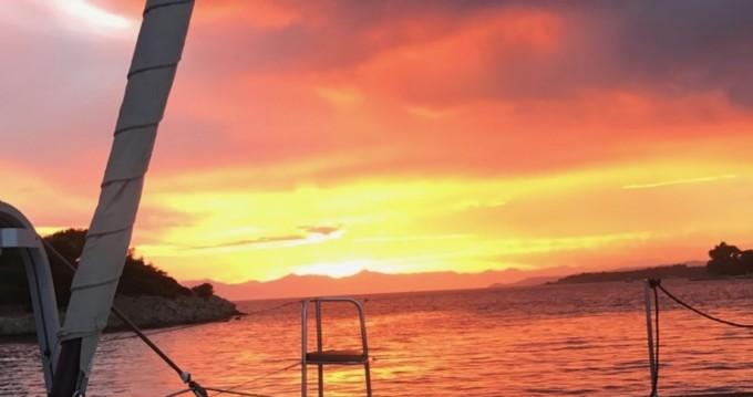 Boat rental Corfu cheap Lagoon 450