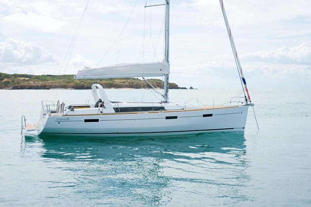 Boat rental Göcek cheap Oceanis 45