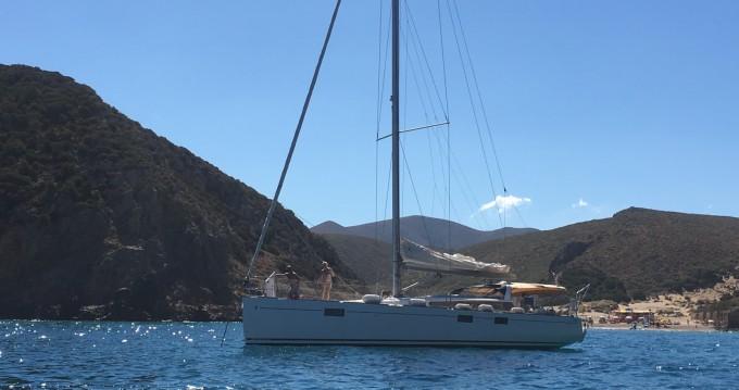 Boat rental Figari cheap Sense 55