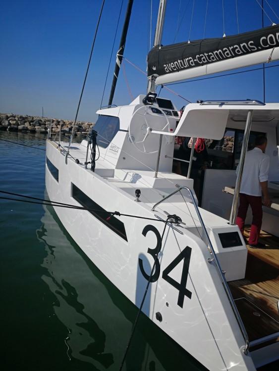 Hire Catamaran with or without skipper Aventura Porto-Vecchio